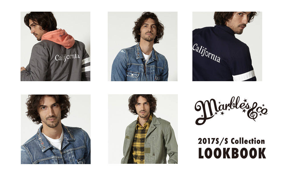 《2017 S/S COLLECTION》 LOOKBOOK