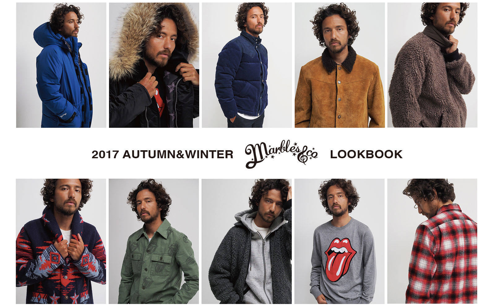 《2017 A/W COLLECTION》 LOOKBOOK