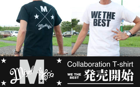 "【M×Marbles】コラボTee""WE THE BEST"" 販売開始!"