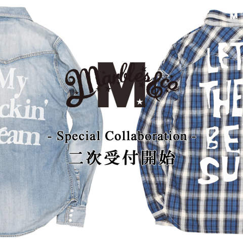 2次予約受付開始《M × Marbles》 -Special Collaboration Item-