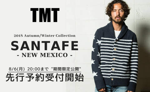 先行予約受付開始 《TMT》 2018 Autumn/Winter Collection