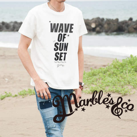 【Marbles×chemical conbination】『WAVE OF SUN SET』
