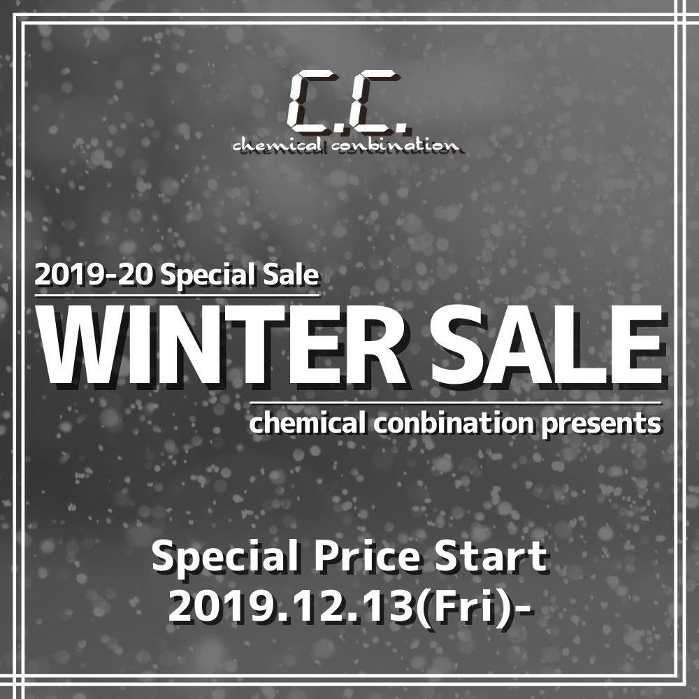 本日19:00 START!! 『2019-20 WINTER SALE』