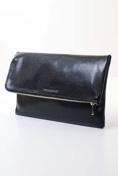 LIZARD FOLDED CLUTCH BAG made in ITALY USL-607
