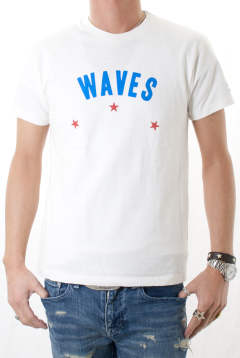 WAVES RUFFI JERSEY T-SHIRT MCS-S1706