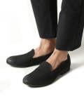 WATER PROOF NUBUCK LEATHER / OPERA SLIP-ON SHOES ME824