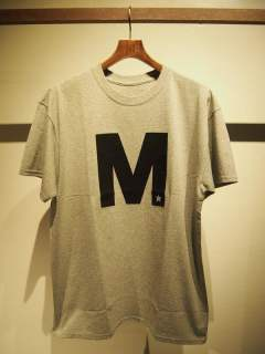 crew neck t-shirts (M) 17SS-MST015