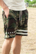 reversible sweat shorts 17SS-MPT004