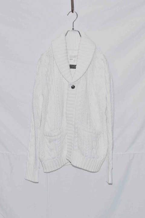 Cable Shawl Cardigan NB035-CT01