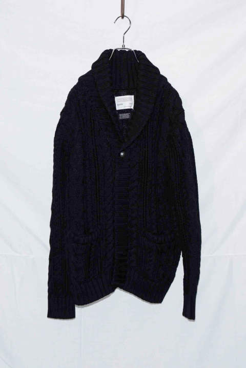 Cable Shawl Cardigan NB035-CT01 (9月入荷予定)