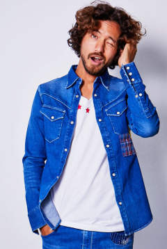 western denim shirts DSH014