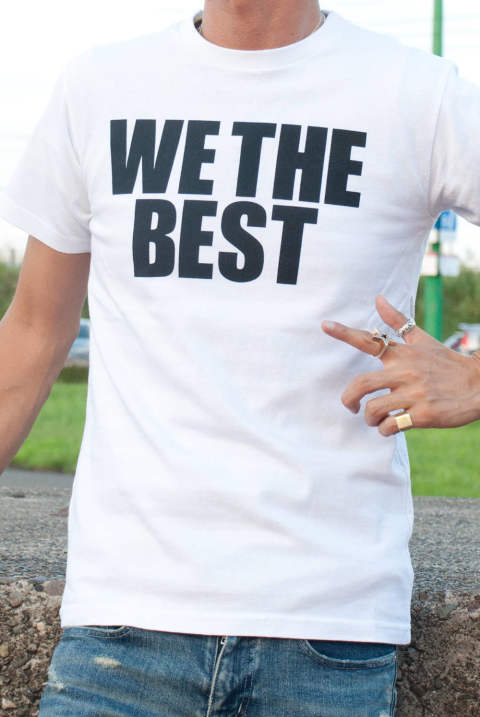 M×Marbles BD Jersey T-Shirt #WE THE BEST MCS-S17MM01