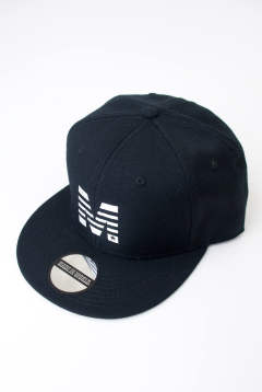 snap back cap (MADE IN WORLD × M) MIW-M-001