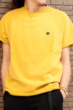 【ラスト1点-サイズM】 one point cut off sweat shirts 17AW-MSW001