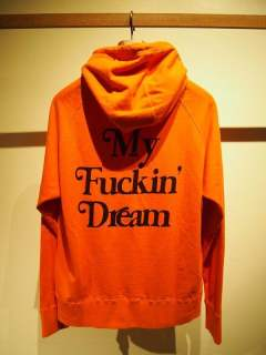 washed pullover parka (My Fuckin' Dream / 17AW) / スウェットプルオーバーパーカー / 17AW-MSW004