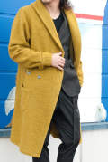 【ラスト1点-サイズ4】 WOOL JERSEY DRESSING GOWN 1051720001