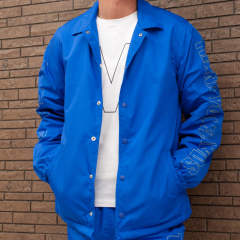 【ラスト1点-サイズM】 nylon boa coaches jacket (frame M) 17AW-MJK002