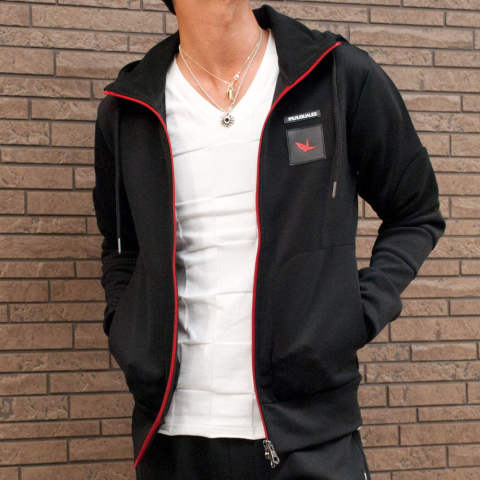 4WAY stretch jersey Parka USO-754