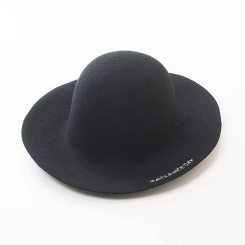 long brim felt hat (HAVE A NICE DAY) / ロングブリムハット / 18SS-MAC001