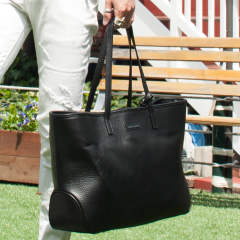 SIMPLE TOTE / レザー トートバッグ MRG201-COW059