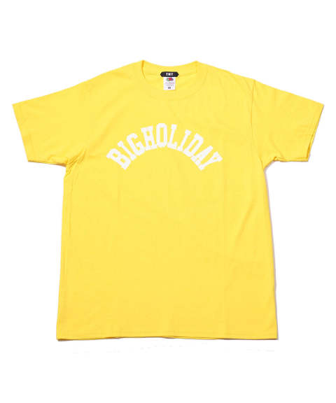 TMT×FRUIT OF THE LOOM TEE (BIGHOLIDAY) / プリントTシャツ TCS-S18FL06