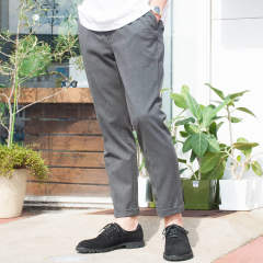 THERMO LITE STRETCH TWILL / ONE PLEATS TAPERED PANTS M-18343