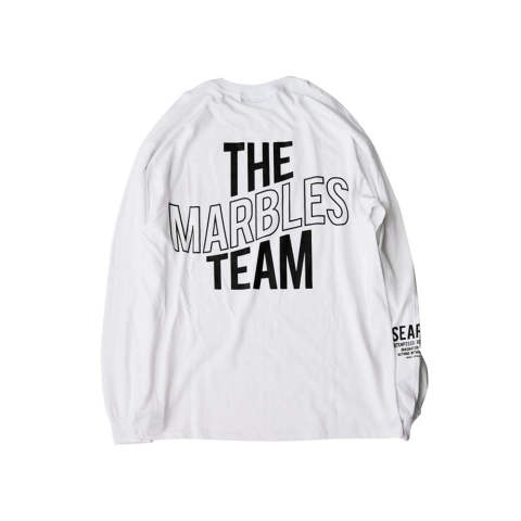 L/S TEE #THE MARBLES TEAM / ロングスリーブTシャツ (10月下旬入荷予定)