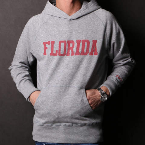 GAZE MINI FRENCH TERRY PULLOVER HOODIE(FLORIDA) / プルオーバーパーカー TSW-S19SP04