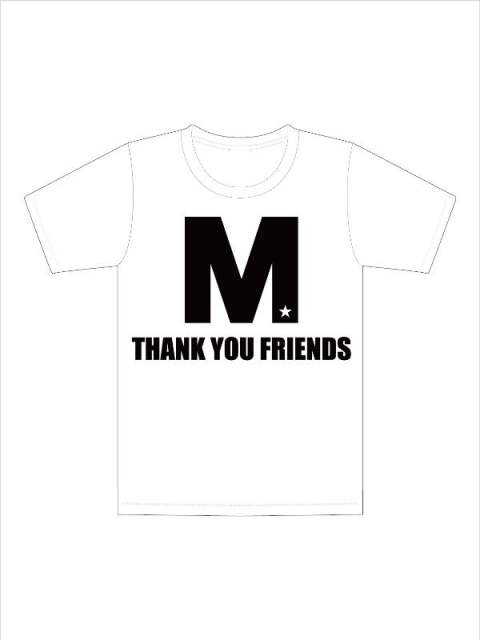 crew neck t-shirts (M THANK YOU FRIENDS) / クルーネックTシャツ 19AW-MST008